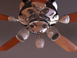 fan light 3d 3ds