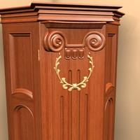 corner case 3d model