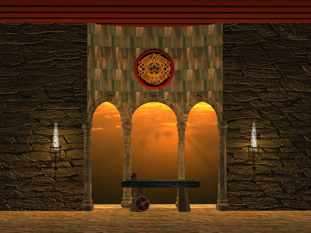 altar 3d model