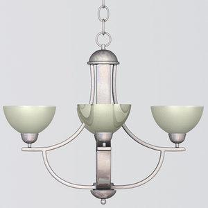 3ds modern chandelier aspire