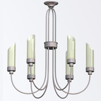 3d modern chandelier model