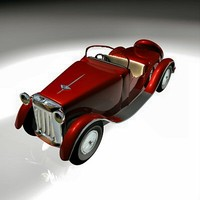3d bentley car model