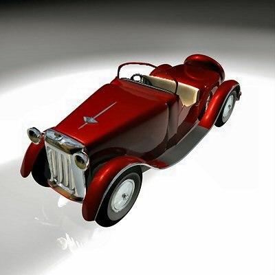 3d bentley car model
