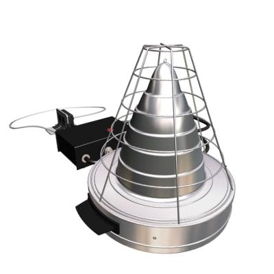bearing heater 3d model