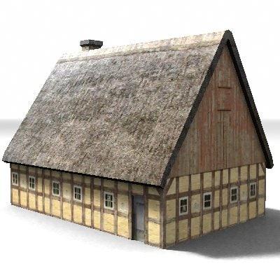 3dsmax medieval building