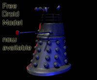free droid 3d model