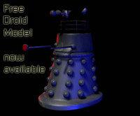 free droid 3d model