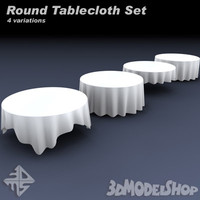 Round Tablecloth Set
