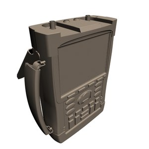 3d model electrical scope meter