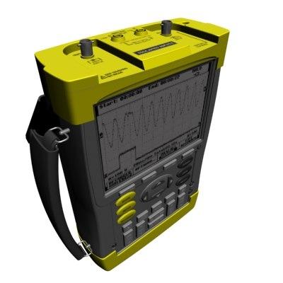 3d electrical scope meter model