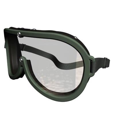 goggles 3d max