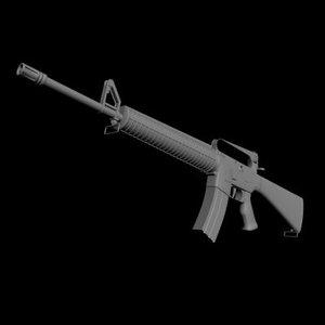 3d model m16