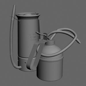 3d model of oil