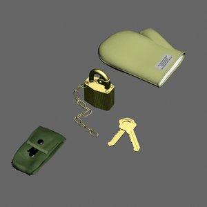 lock mitten max