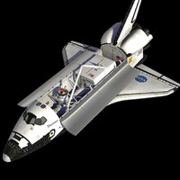 space shuttle orbiter 3d model