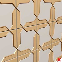 free max model panel decorative