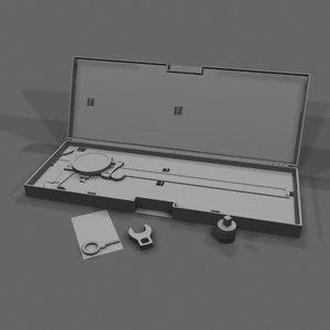 caliper tool 3d model