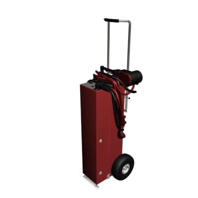 3d maintenance cart