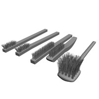 3d model wire brushes