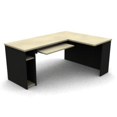 simple desk lwo