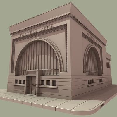 3ds max farmers bank