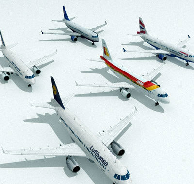 3d airlines air model