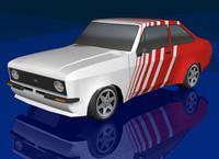 3d model racing car gmax