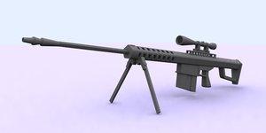 m 82 sniper m82 3d x