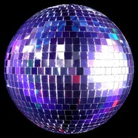 disco ball lighting 3d model