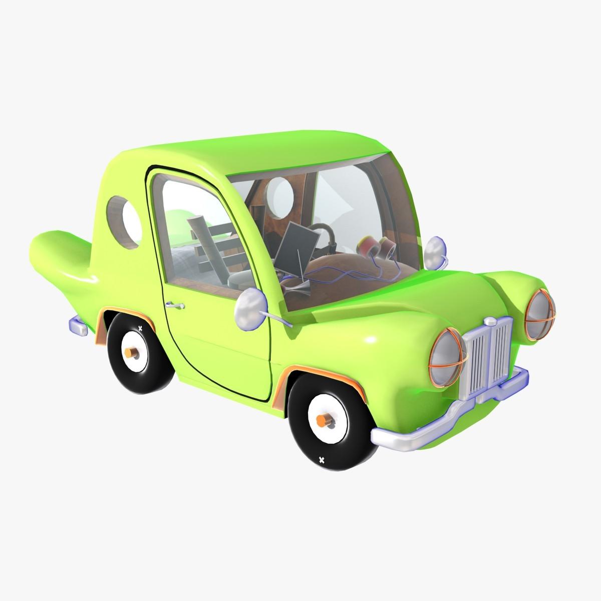 3ds looney car