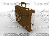 3d model briefcase case