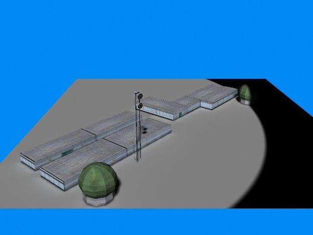 communication centre 3d model