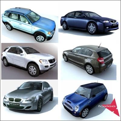 car vehicle 3d model