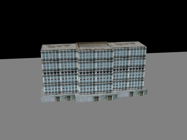 building videogame 3d model
