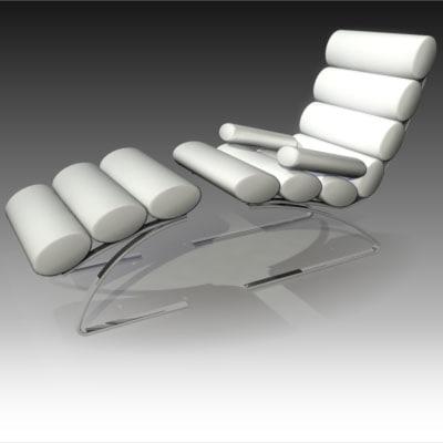 free max model chair furniture