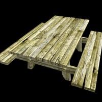 3d max bench