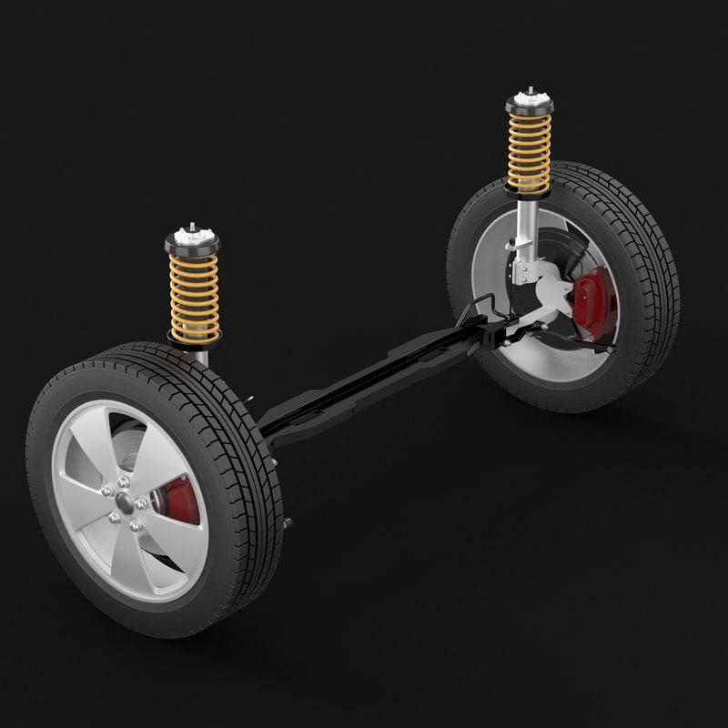 3d air filter model
