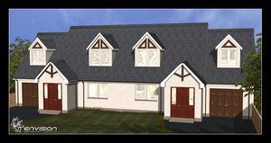 3d model traditional house