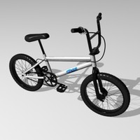 3d bmx bicycle