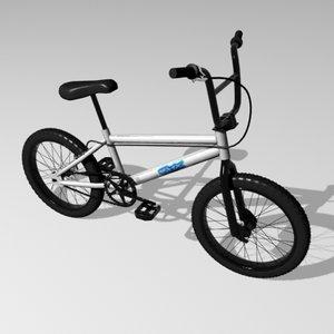 3d bmx bicycle