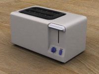 toaster kitchen 3d model