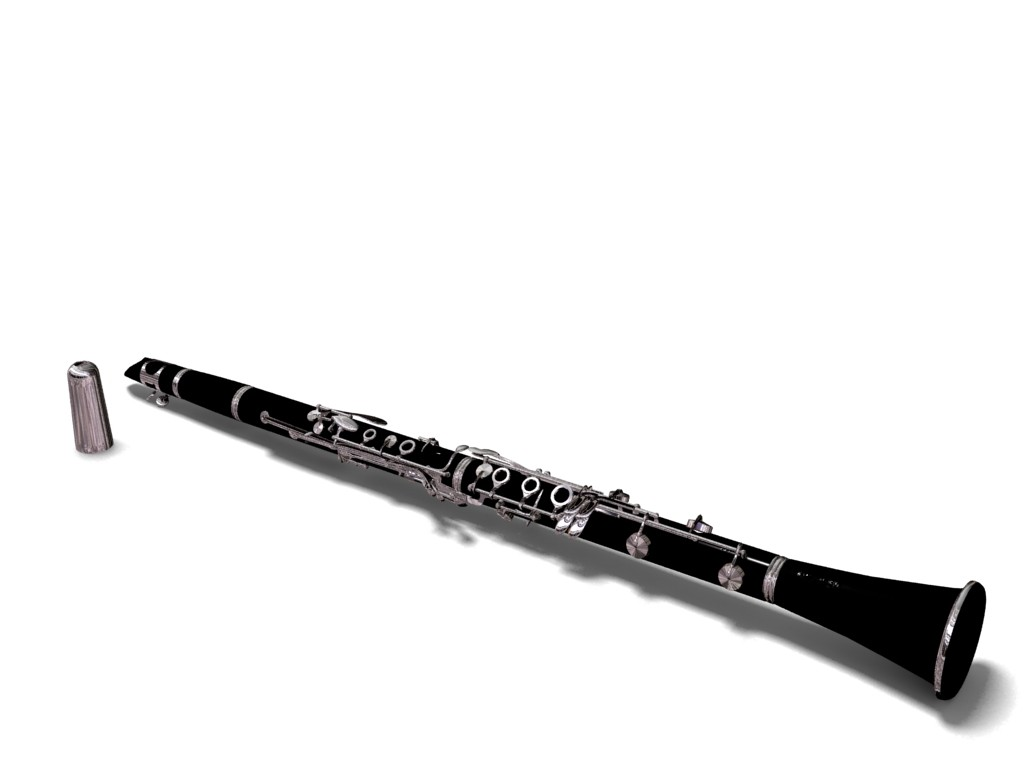clarinet buffet 3d model