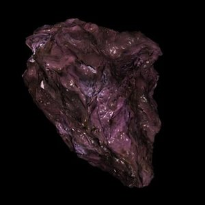 3ds max amethyst asteroid
