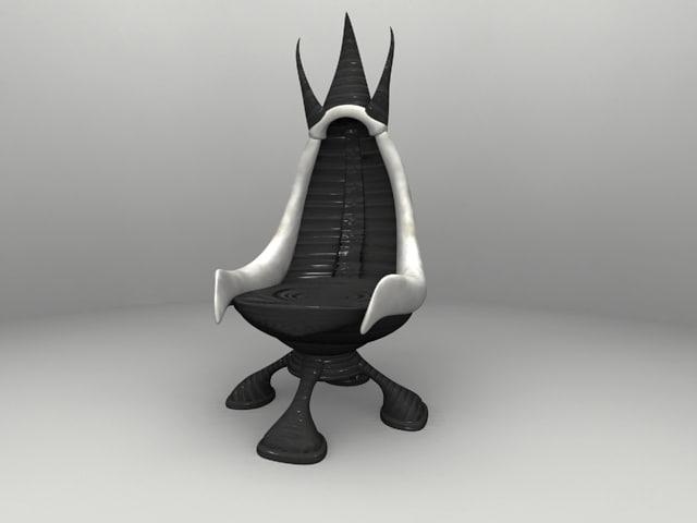 3d dracon chair