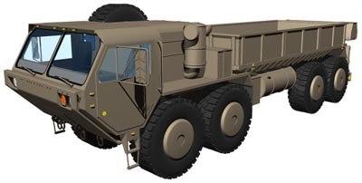 3d m977 hemtt model