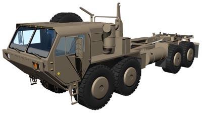 3d model m1977 hemtt 8x8 transporter