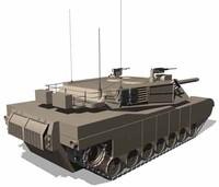 m1a1 abrams tank max