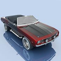 3ds max custom camaro