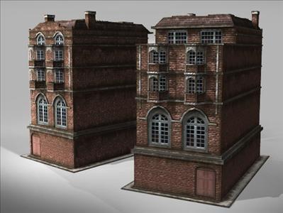 3d model house london