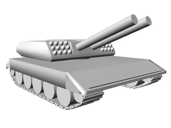 free tank s 3d model